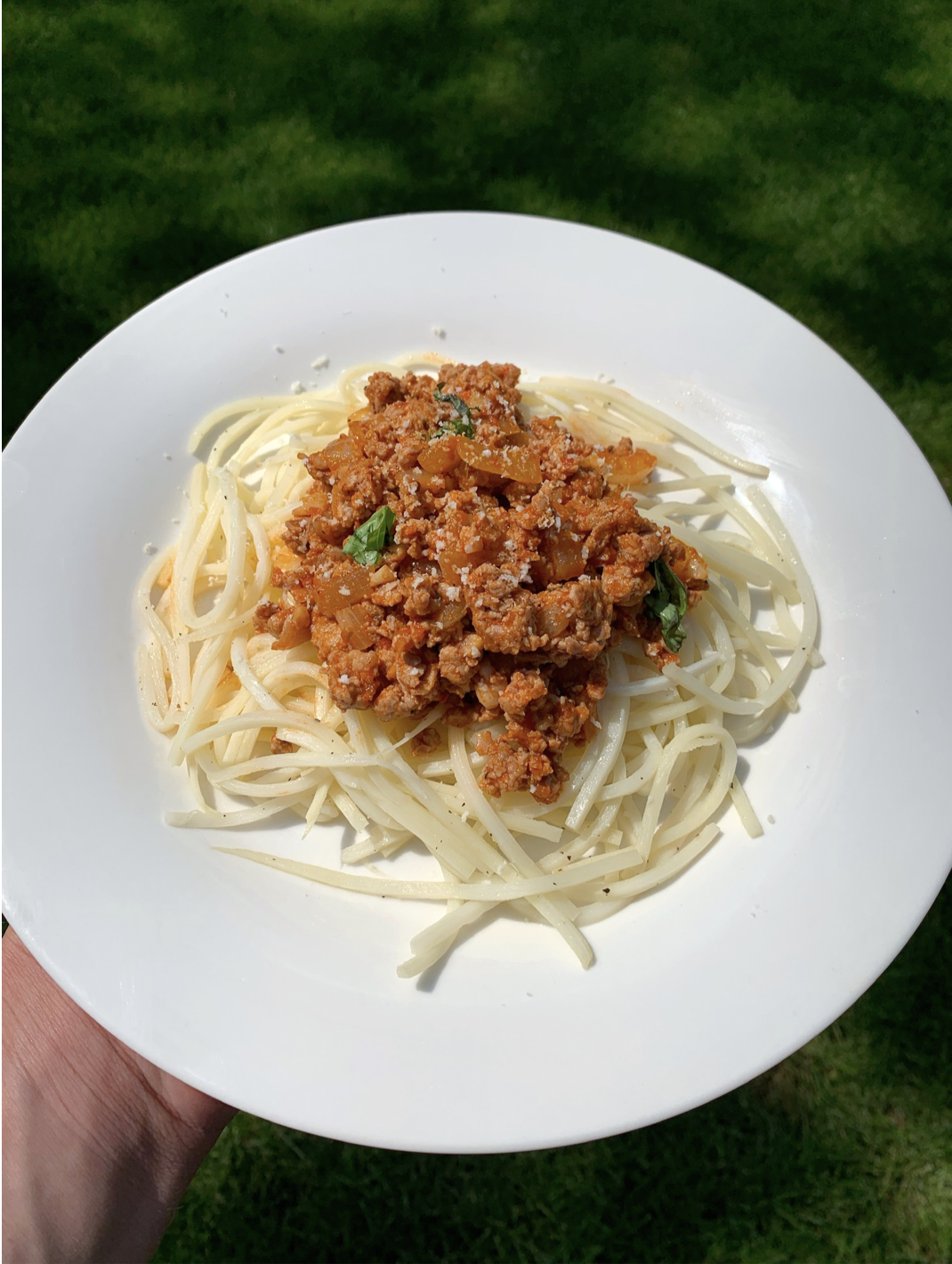 Hearts of Palm Low Carb Turkey Bolognese