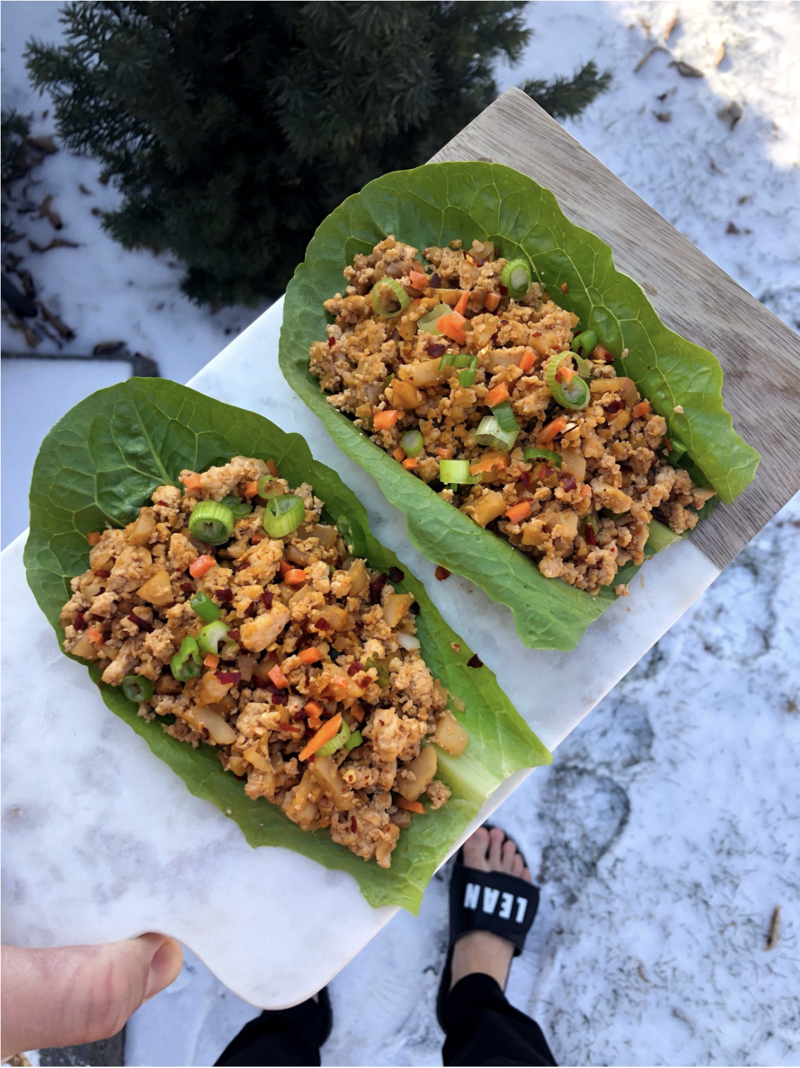 PF Changs Style Lean Lettuce Wraps