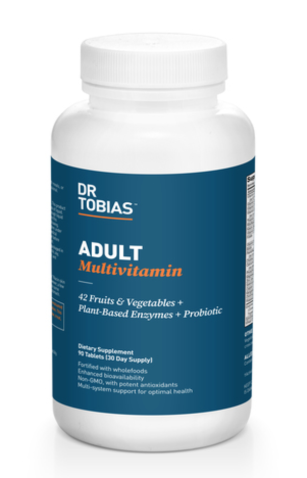 Dr.Tobias mulitvitamin is a good well-rounded multivitamin.