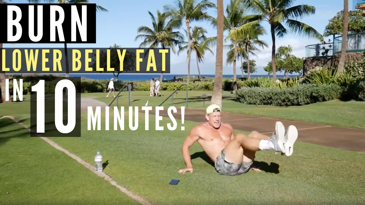 LOWER BELLY FAT BURNING WORKOUT!