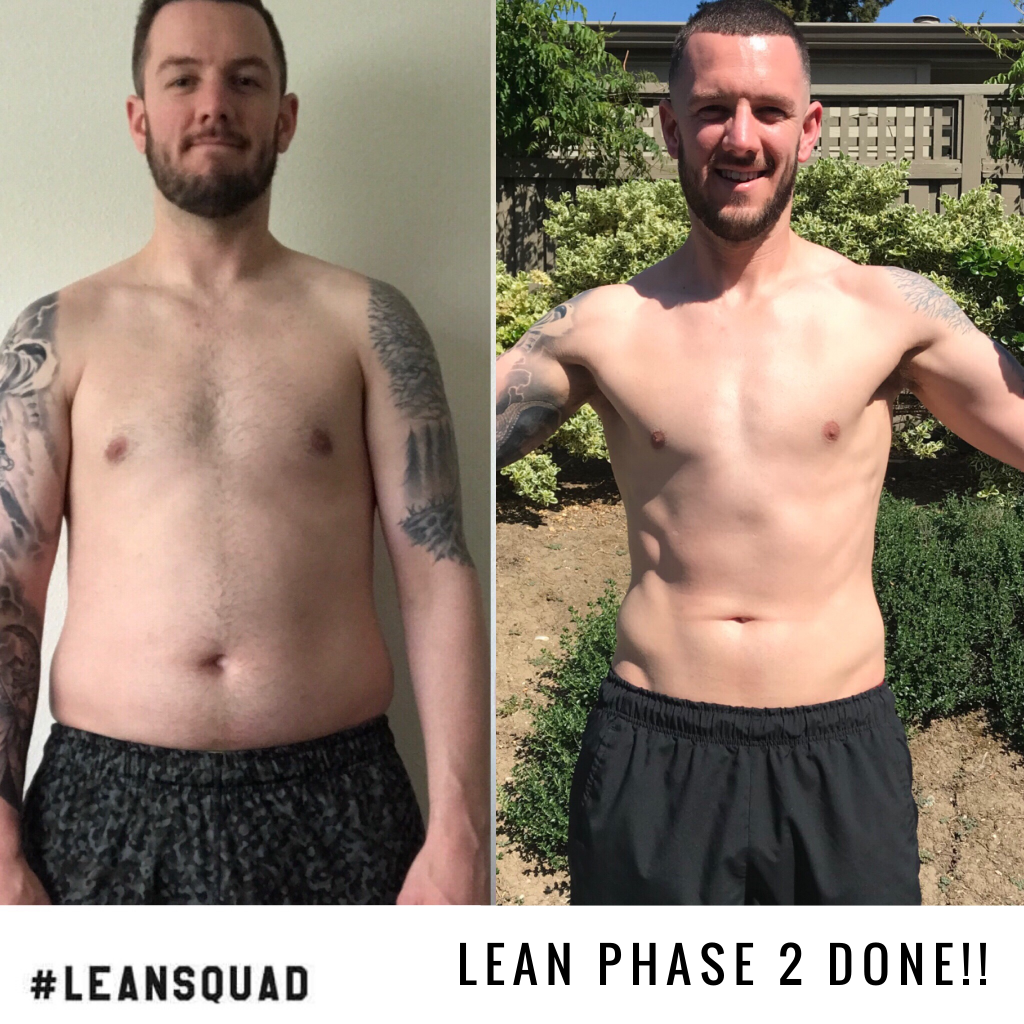 2 month fitness transformation