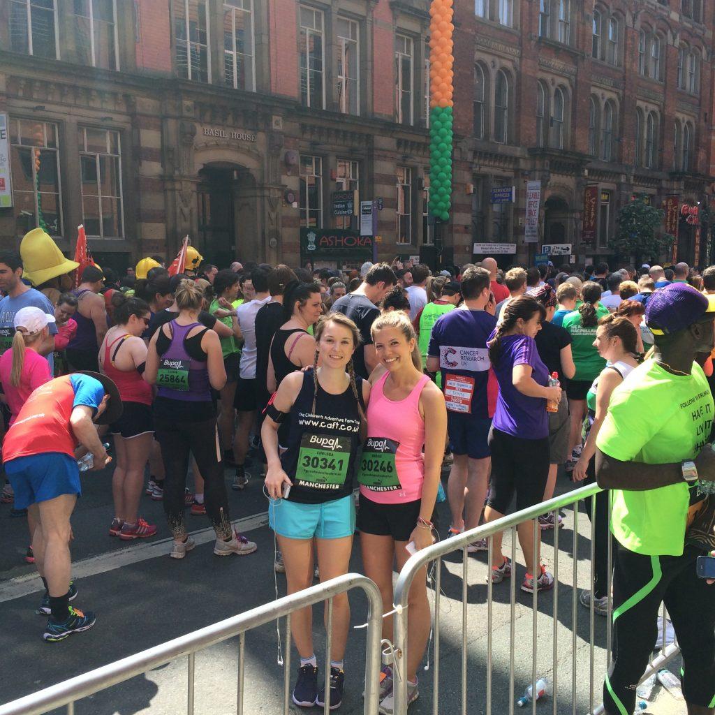 leansquad team at a marathon