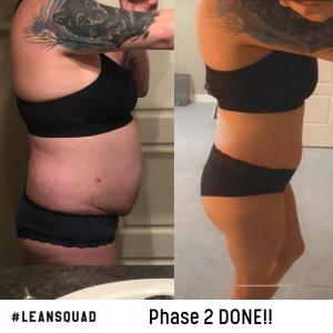 2 month transformation!