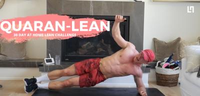 Quaran-lean workout