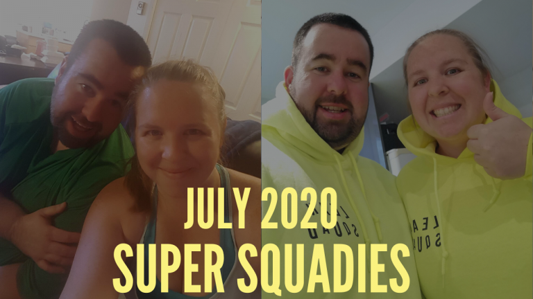 JULY SUPER SQUADIES | LEAN MACHINE COUPLE