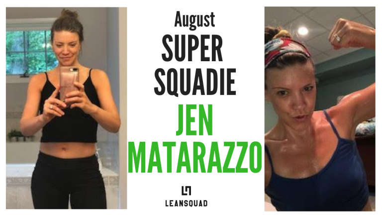 LEAN MOM OF FOUR | AUGUST SUPER SQUADIE